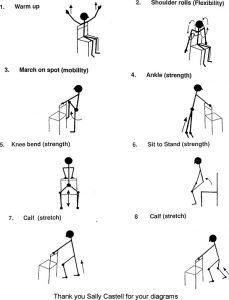 falls exercises